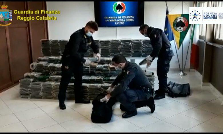 Gdf Gioia Tauro cocaina 05.11.2020