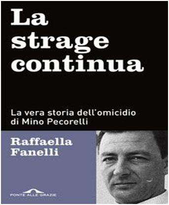 """Pecorelli - """"La strage continua -Raffaella Fanelli - copertina"""