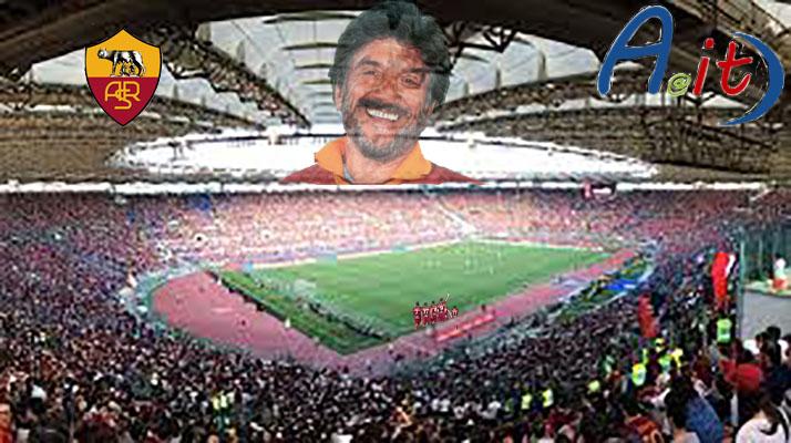 proietti-roma-olimpico (foto combo Salvatore Veltri logo)