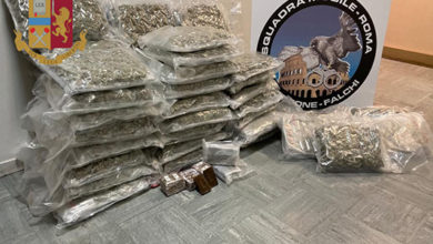 Photo of Sequestrati oltre 75 kg. di marijuana e 7 kg. di hashish. Arrestati 4 italiani