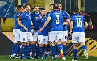 calcio-italia-irlanda 25.03.2021 (foto web)