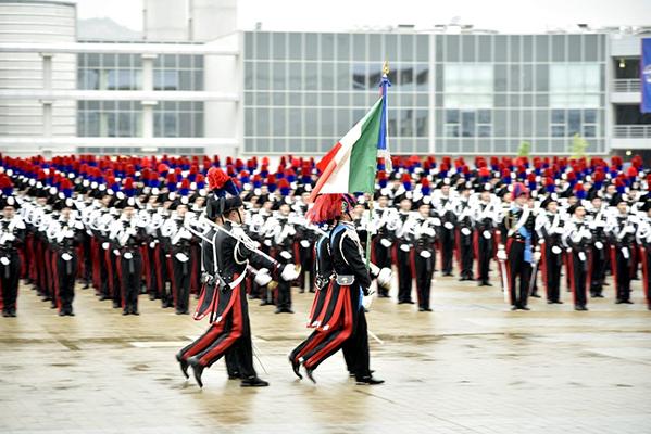 cc- sfilamento Bandiera di Guerra
