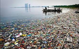 scienze plastica e microplastica in mare (foto web)