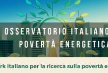 Osservatorio Italiano sulla Povertà Energetica (OIPE)