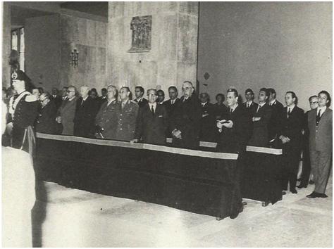 Funerali Gen. Giovanni Vacca - Aldo Moro