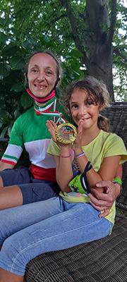 Mountain Bike - Karin e Isabella