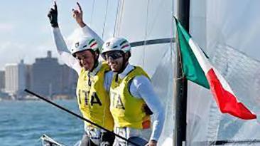 tokyo vela catamarano Nacra 17 Caterina Banti Ruggero Tita 03.08.2021 (foto web)