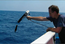 monitoraggio marino (foto INGV-ENEA)