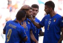calcio -italia-belgio 10.10.2021 (foto web)
