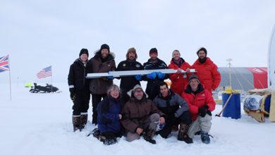 islanda- spedizione - carota ghiaccio 2021